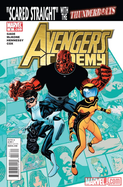 Avengers Academy #3 cover by Mike McKone