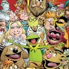 DISNEY•MUPPETS PRESENTS Comic cover art by Roger Langridge