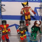 Wolverine, Rogue, and Colossus Minimates from Diamond Select Toys