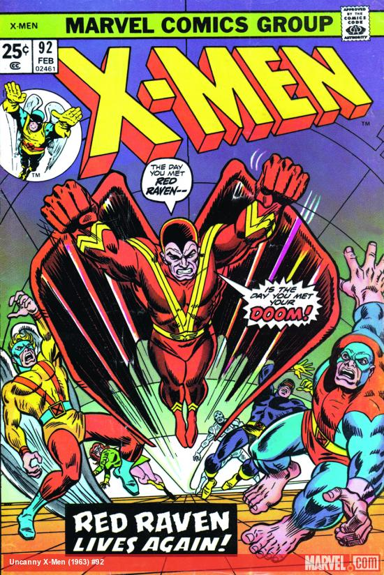 Uncanny X-Men #92