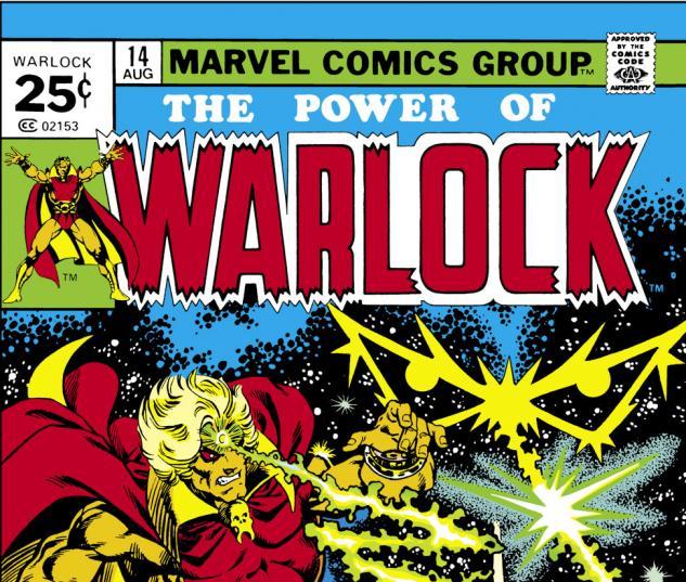 Warlock (1972) #14 Cover