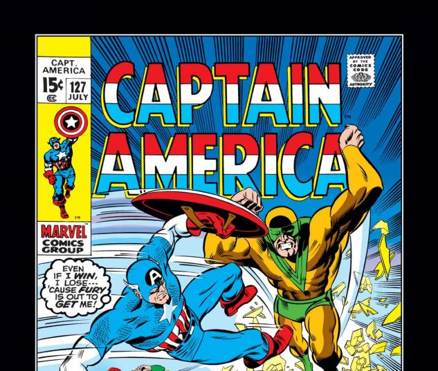 Captain America (1968) #127 Cover