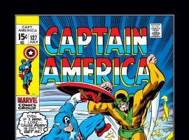Captain America (1968) #127 Cover