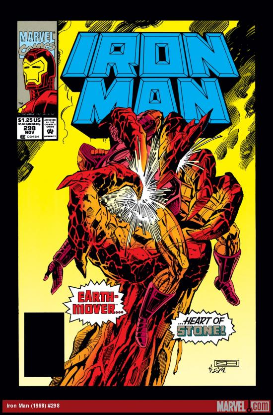 Iron Man (1968) #298 Cover