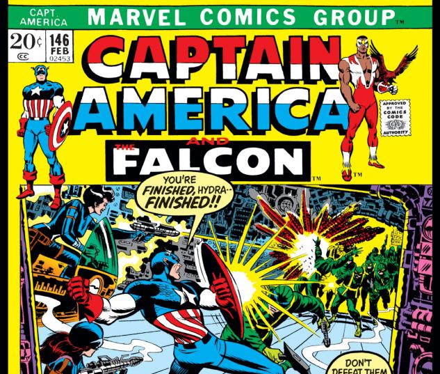 Captain America (1968) #146 Cover