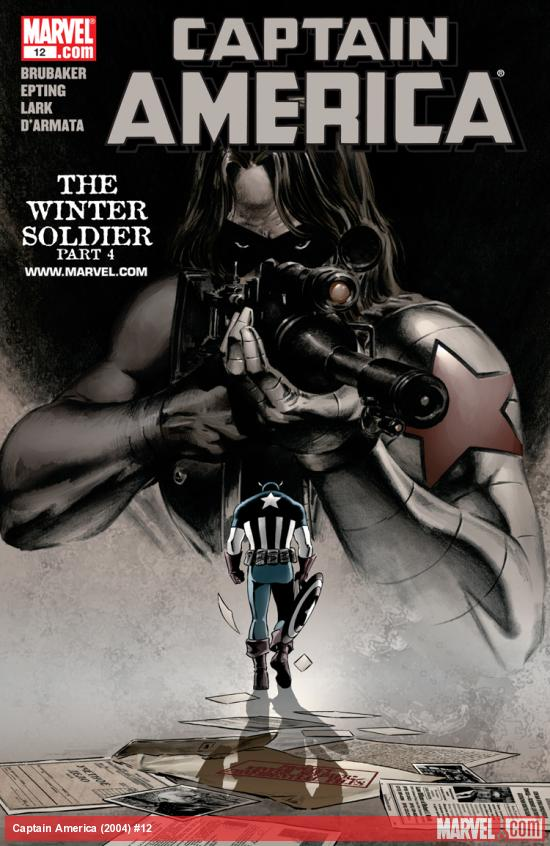 Cover: Captain America (2004) #4 of 6 - Winter Soldier