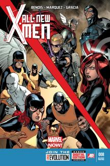 All-New X-Men #8  (2nd Printing Variant)