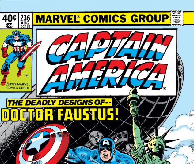 Captain America (1968) #236 Cover