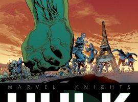 Marvel Knights: Hulk #1 cover by Piotr Kowalski