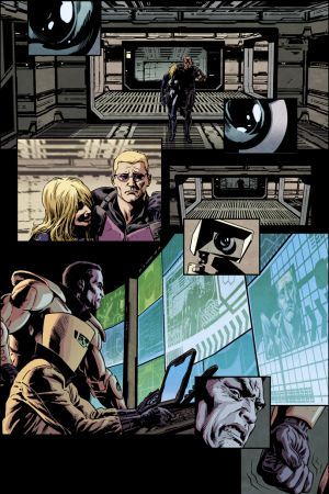 Secret Avengers (2013) #15 preview art by Luke Ross