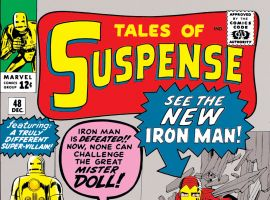 Tales of Suspense (1959) #48 Cover