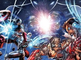 Final Avengers & New Avengers covers