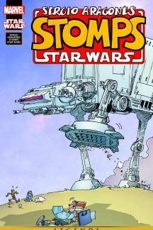 Sergio Aragonés Stomps Star Wars #1