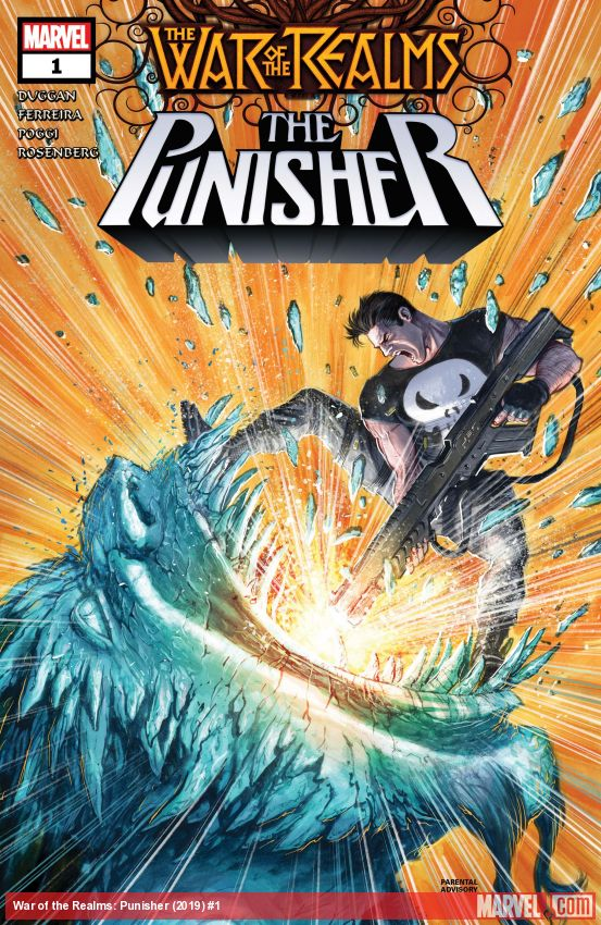 War of the Realms: The Punisher (2019) #1