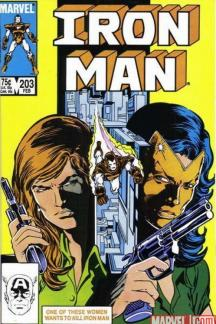 Iron Man #203