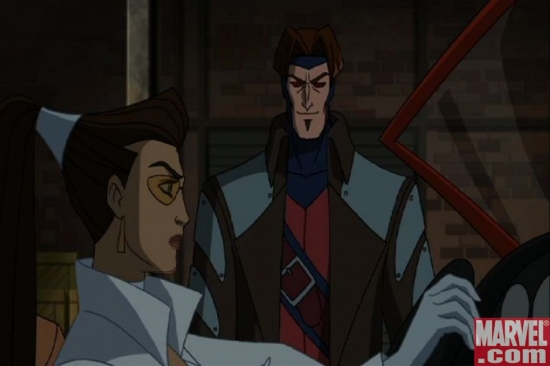 Gambit was always the ladies man...