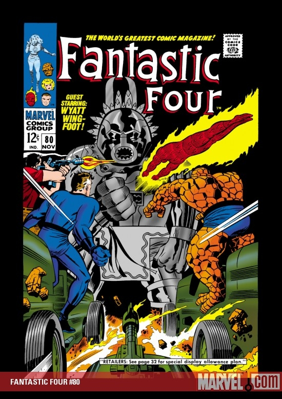 FANTASTIC FOUR #80
