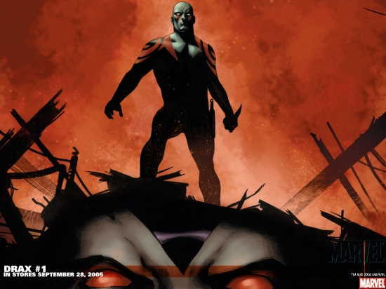 Drax the Destroyer (2005) #1 Wallpaper