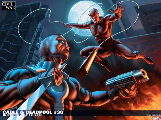 Cable & Deadpool (2004) #30 Wallpaper