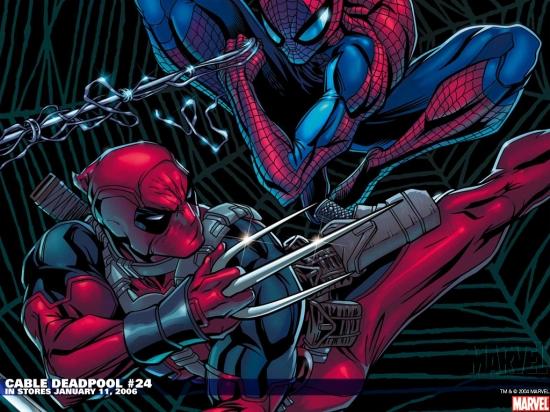 Cable & Deadpool (2004) #24 Wallpaper