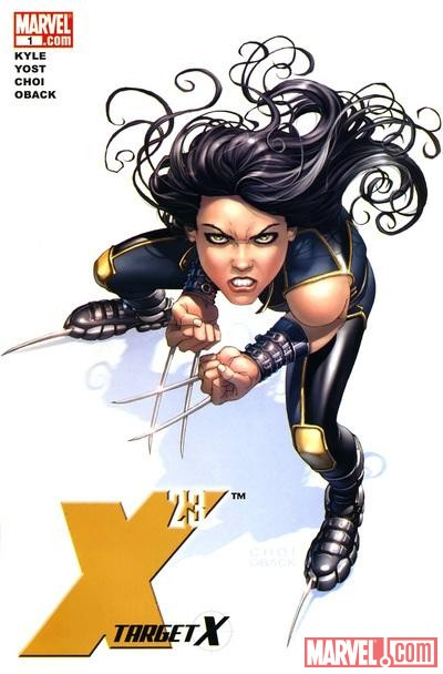 X-23: TARGET X #1 cover by Mike Choi