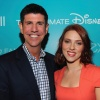 Rich Ross and Scarlett Johansson at D23 2011