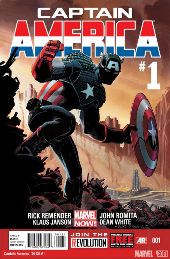 Captain America #1 Cover