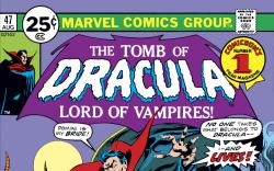 Tomb of Dracula (1972) #47 Cover
