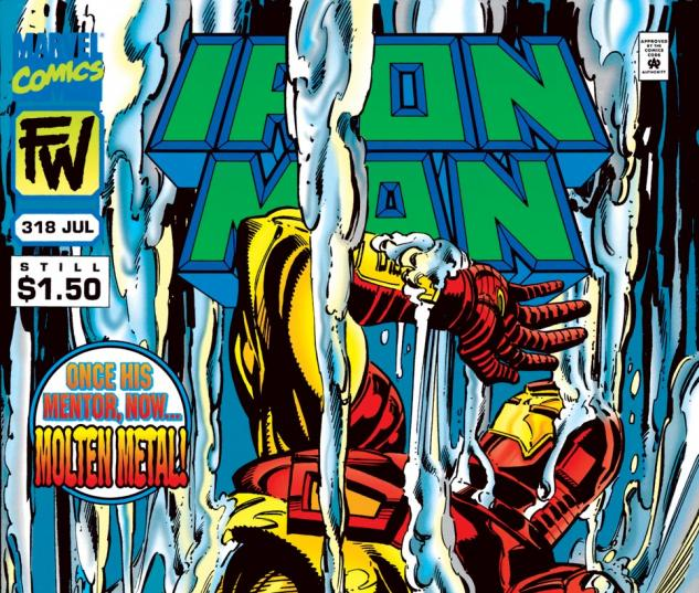 Iron Man (1968) #318 Cover