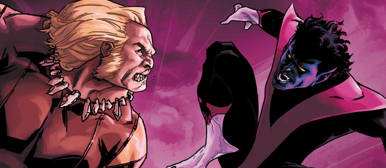 Psych Ward: Nightcrawler & Sabretooth