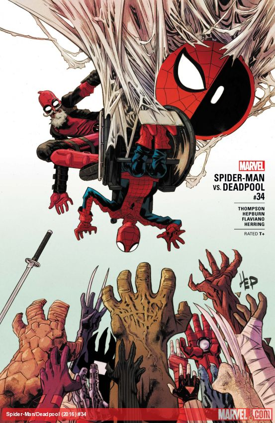Spider-Man/Deadpool (2016) #34