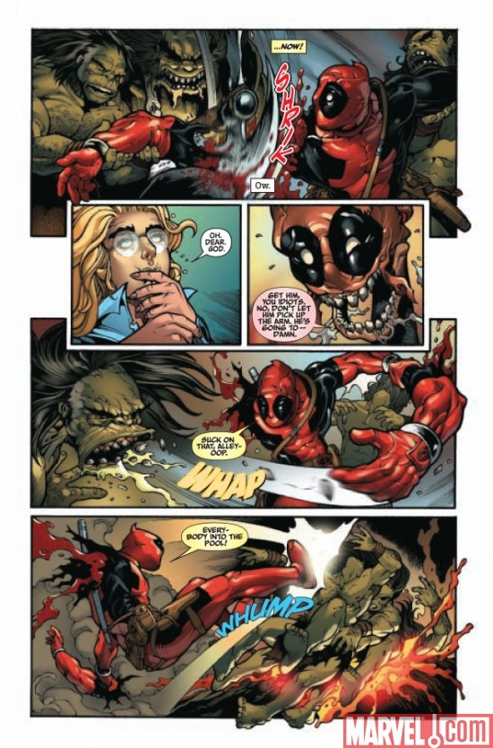 DEADPOOL: MERC WITH A MOUTH #2 Page 7