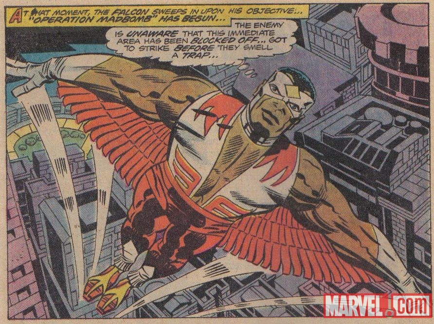 The Falcon by Jack Kirby