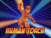 Super hero Squad Online: Human Torch Vignette