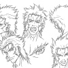 Wolverine concept art from the Wolverine anime