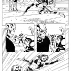 Avengers Academy #24 inked preview art by Tom Grummett