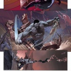 Ultimate Comics Ultimates #8 preview art by Esad Ribic