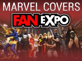Marvel Covers Fan Expo 2012