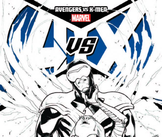 AVENGERS VS. X-MEN 11 PICHELLI SKETCH VARIANT (1 FOR 200, WITH DIGITAL CODE)