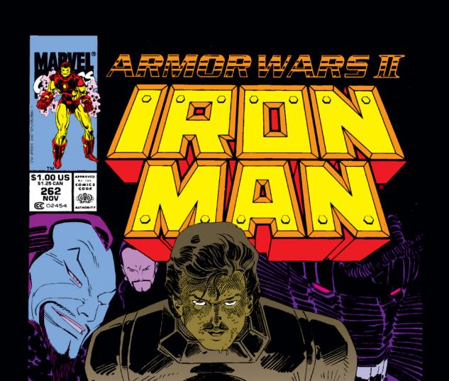 Iron Man (1968) #262 Cover