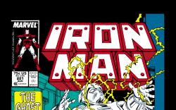 Iron Man (1968) #221 Cover