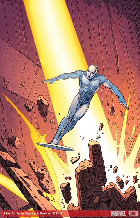 Silver Surfer By Stan Lee &amp; Moebius #1
