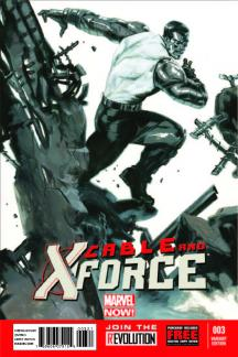 Cable and X-Force #3  (Dell'otto Variant)