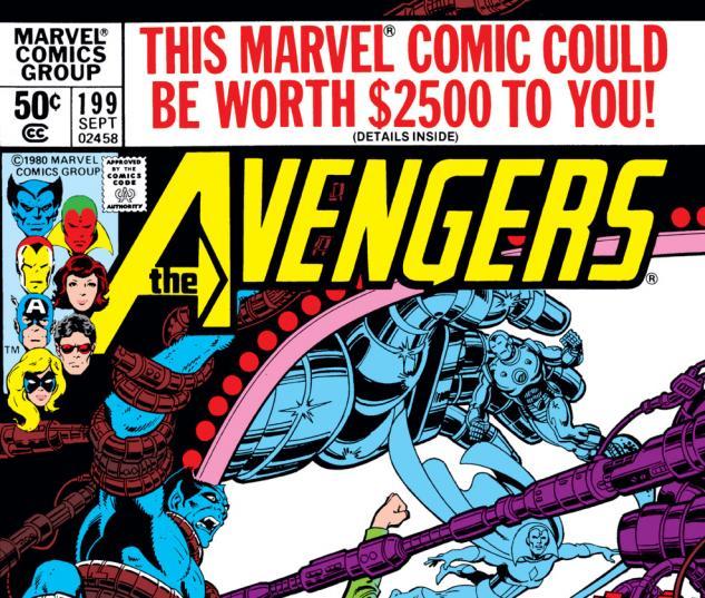 Avengers (1963) #199 Cover