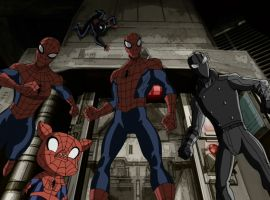 Spider-Men come together in Spider-Verse