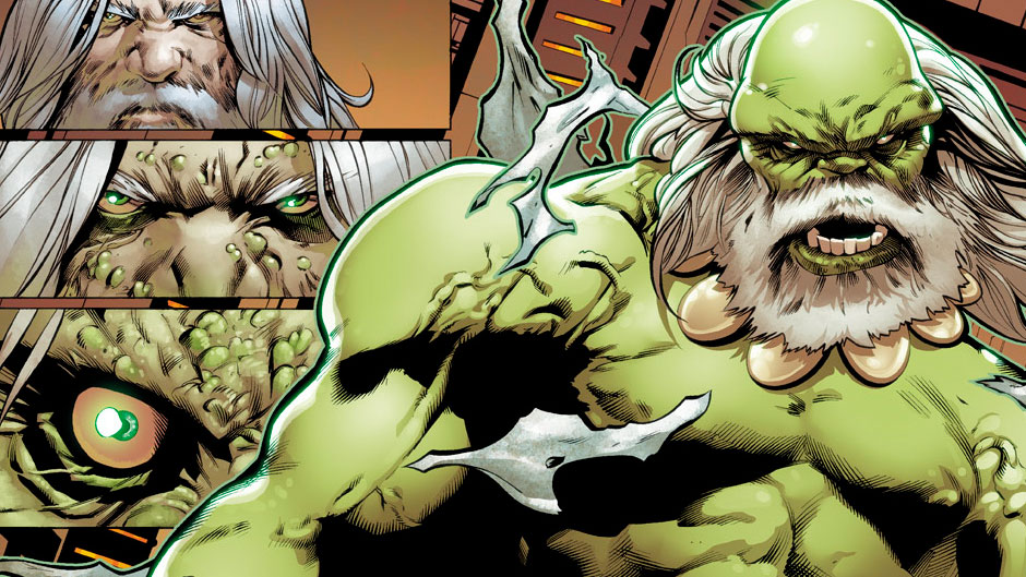 Future Imperfect #1 preview art by Greg Land