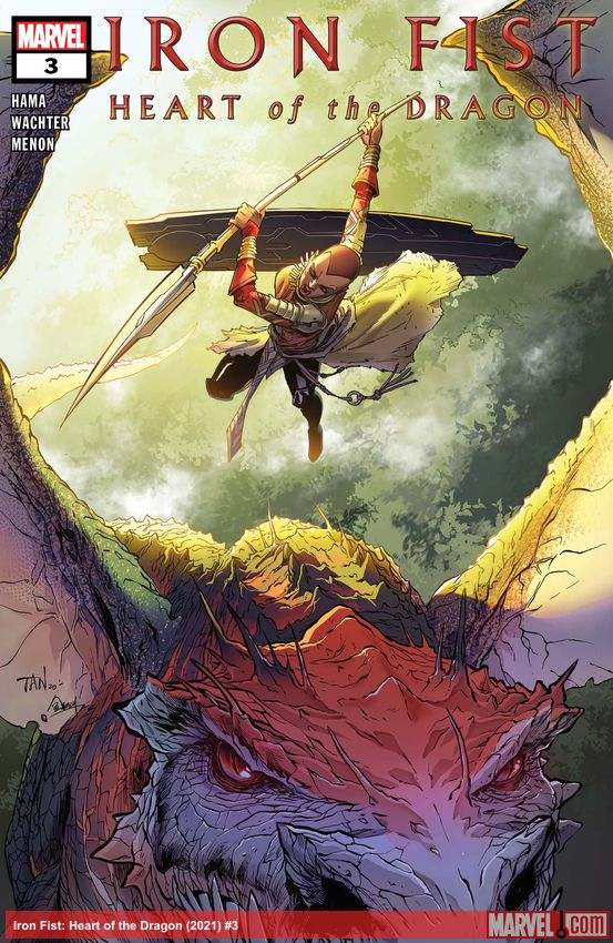Iron Fist: Heart of the Dragon (2021) #3
