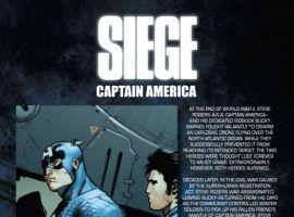 SIEGE: CAPTAIN AMERICA #1 preview art by Federico Dallocchio