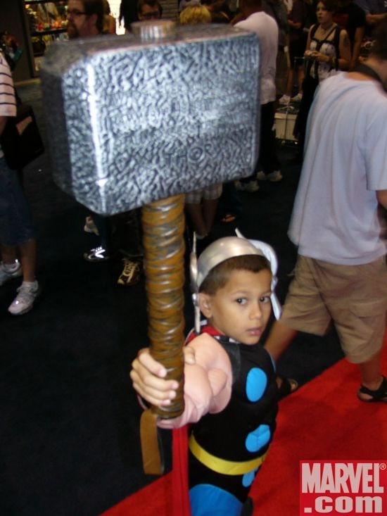 Thor Lifts Mjolnir