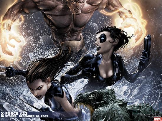X-Force (1991) #22 Wallpaper
